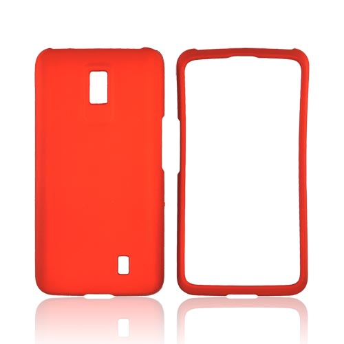 LG Spectrum Rubberized Hard Case - Orange