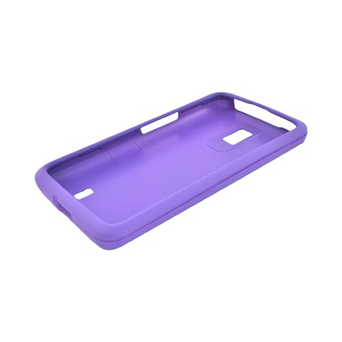 LG Spectrum Rubberized Hard Case - Purple
