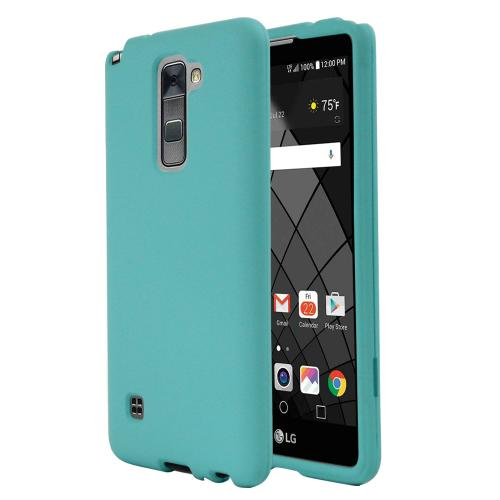 LG Stylo 2 Case, REDshield [Mint] Slim & Protective Rubberized Matte Finish Snap-on Hard Polycarbonate Plastic Case Cover