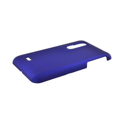 LG Thrill 4G Rubberized Hard Case - Blue