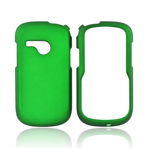 LG Saber UN200 Rubberized Hard Case - Green