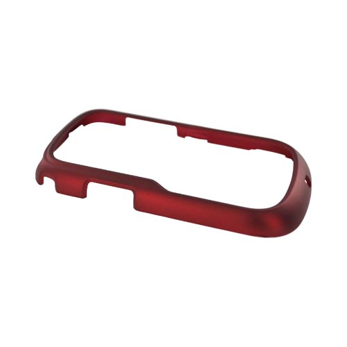 LG Saber UN200 Rubberized Hard Case - Red