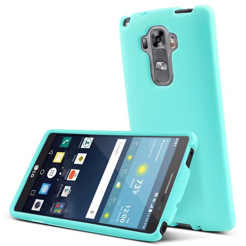 LG G Vista 2 Case, [Mint] Slim & Protective Rubberized Matte Finish Snap-on Hard Polycarbonate Plastic Case Cover