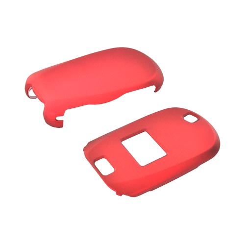 LG Revere VN150 Rubberized Hard Case - Red