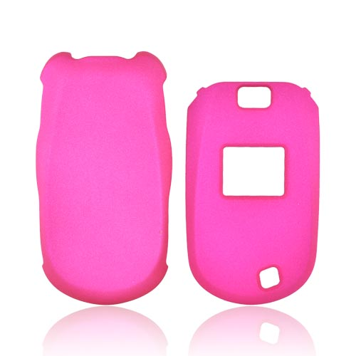 LG Revere VN150 Rubberized Hard Case - Rose Pink