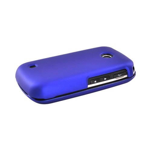 LG Cosmos Touch VN270 Rubberized Hard Case - Blue