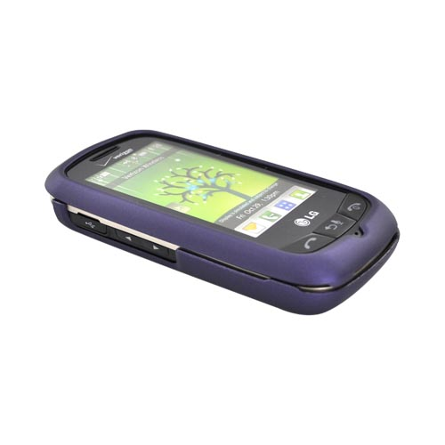 LG Cosmos Touch VN270 Rubberized Hard Case - Purple
