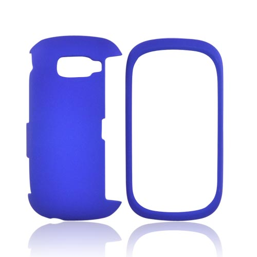 LG Octane VN530 Rubberized Hard Case - Blue