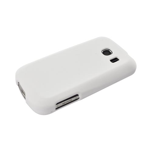 LG Vortex Rubberized Hard Case - Solid White