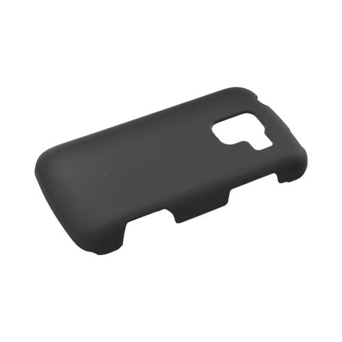 LG Enlighten VS700 Rubberized Hard Case - Black