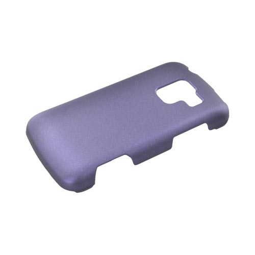 LG Enlighten VS700 Rubberized Hard Case - Purple