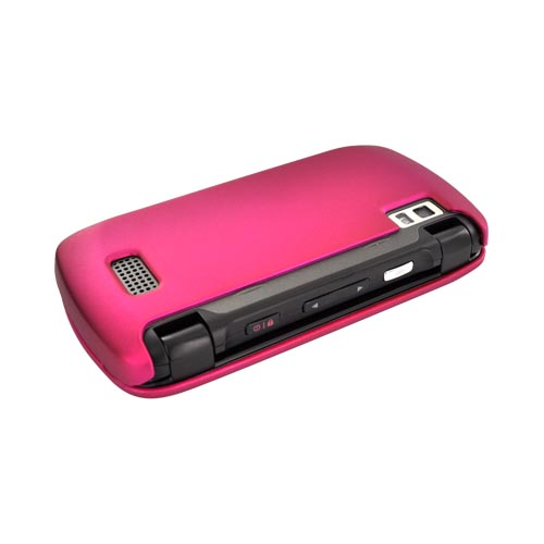 LG Genesis VS760 Rubberized Hard Case - Rose Pink