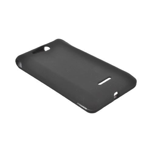 LG Lucid VS840 Rubberized Hard Case - Black