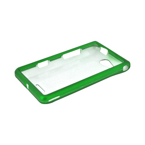 LG Lucid VS840 Rubberized Hard Case - Green