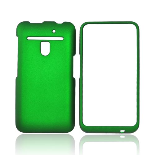 LG Revolution, LG Esteem Rubberized Hard Case - Green