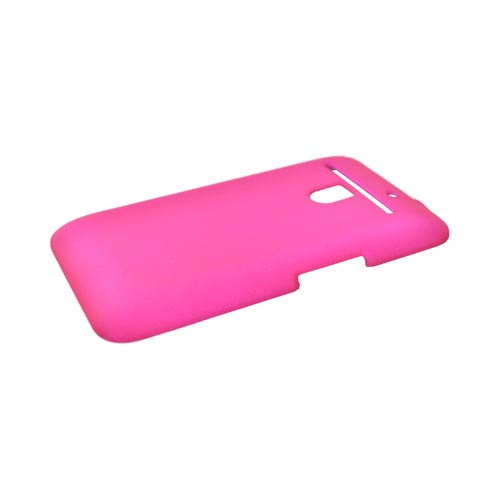 LG Revolution, LG Esteem Rubberized Hard Case - Hot Pink