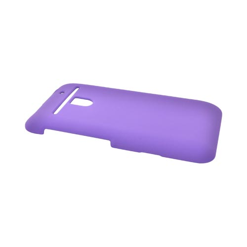 LG Revolution, LG Esteem Rubberized Hard Case - Purple