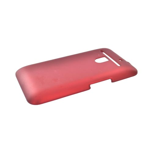LG Revolution, LG Esteem Rubberized Hard Case - Red