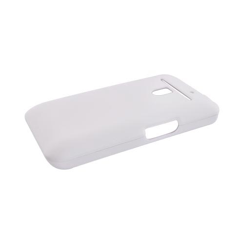 LG Revolution, LG Esteem Rubberized Hard Case - White