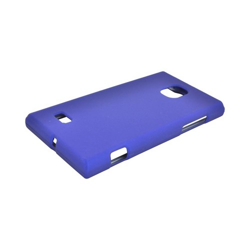 LG Optimus VS930 (Optimus LTE II) Rubberized Hard Case - Blue