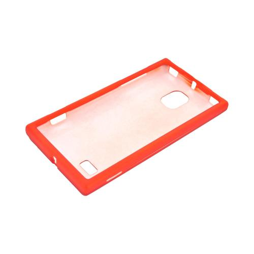 LG Spectrum 2 VS930 Rubberized Hard Case - Orange