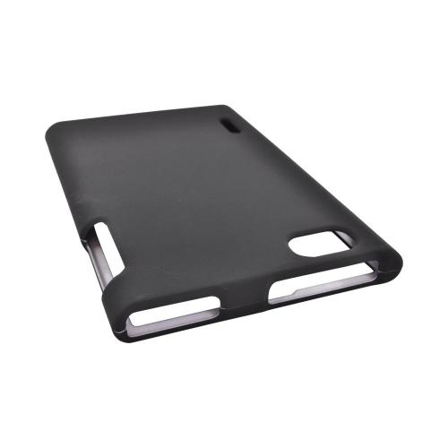 LG Optimus Vu VS950 Rubberized Hard Case - Black