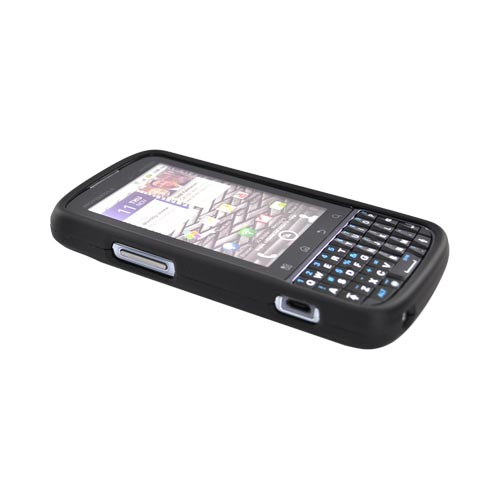 Motorola Droid Pro A957 Rubberized Hard Case - Black