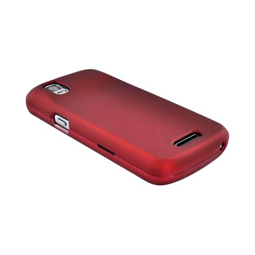 Motorola Droid Pro A957 Rubberized Hard Case - Red