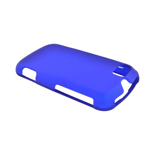 Motorola Admiral Rubberized Hard Case - Blue
