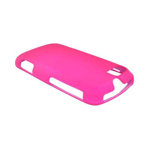 Motorola Admiral Rubberized Hard Case - Hot Pink