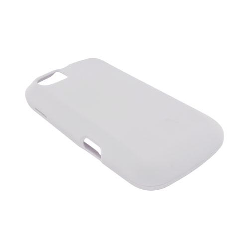 Motorola Admiral Rubberized Hard Case - Solid White