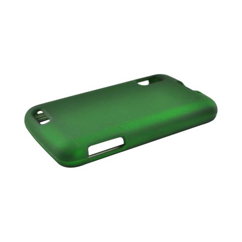 Motorola Atrix 4G Rubberized Hard Case - Green