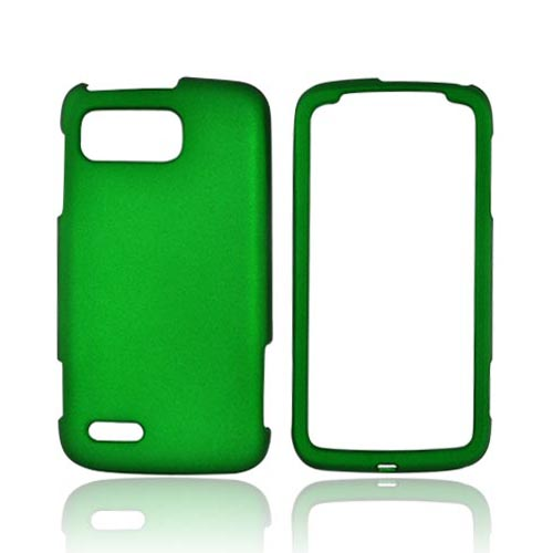Motorola Atrix 2 Rubberized Hard Case - Green