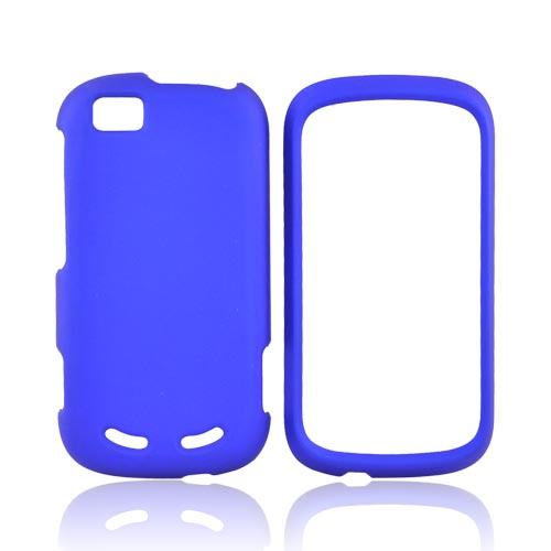 Motorola CLIQ 2 Rubberized Hard Case - Blue