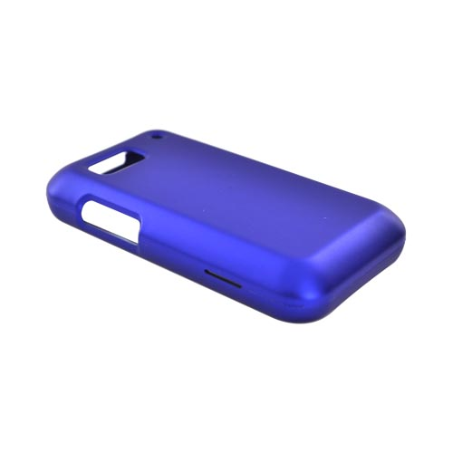 Motorola Defy Rubberized Hard Case - Blue