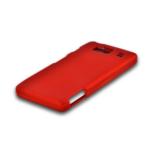 Motorola Droid RAZR MAXX HD Rubberized Hard Case - Orange
