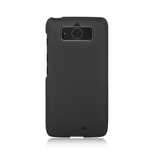 Black Rubberized Hard Case for Motorola Droid Mini