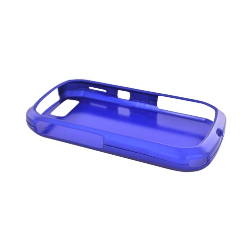 Motorola I1 Rubberized Hard Case - Blue