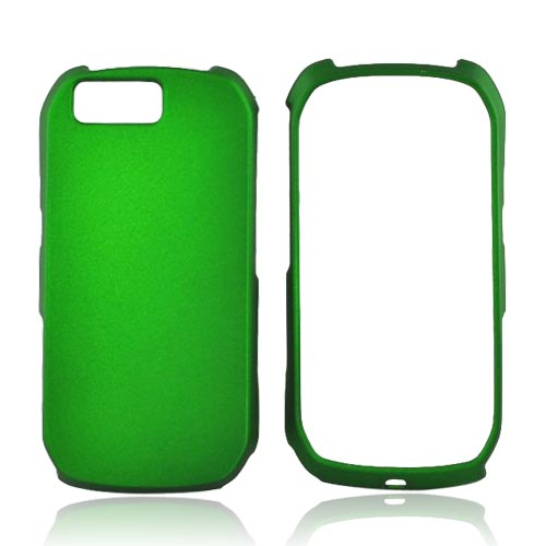 Luxmo Motorola i1 Rubberized Hard Case - Green