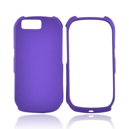 Motorola i1 Rubberized Hard Case - Purple