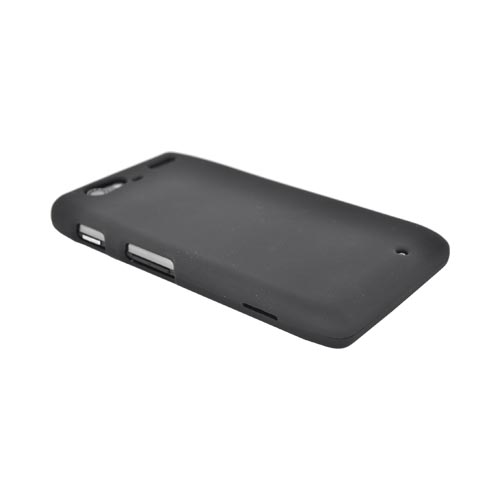 Motorola Droid RAZR MAXX Rubberized Hard Case - Black