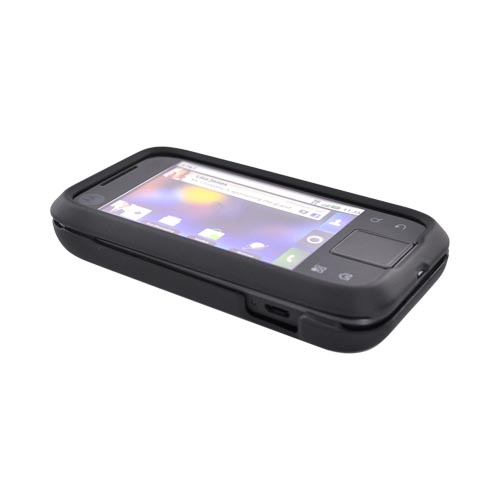 Motorola Flipside MB508 Rubberized Hard Case - Black
