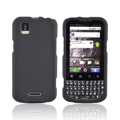 Motorola XPRT MB612 Rubberized Hard Case - Black