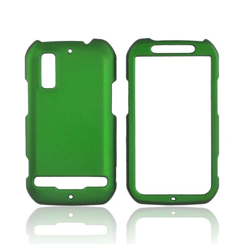 Motorola Photon 4G Rubberized Hard Case - Green