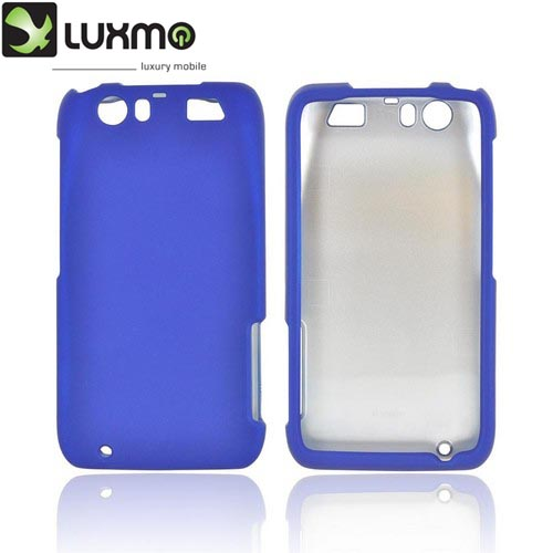 Motorola Atrix HD Rubberized Hard Case - Blue