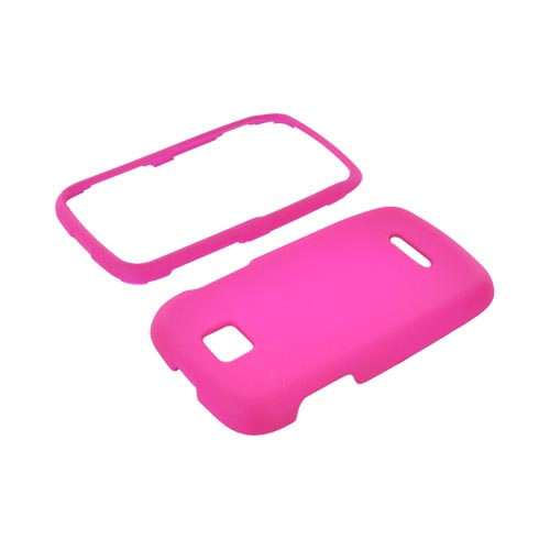 Motorola Theory Rubberized Hard Case - Hot Pink