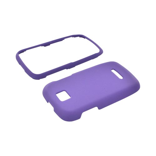 Motorola Theory Rubberized Hard Case - Purple