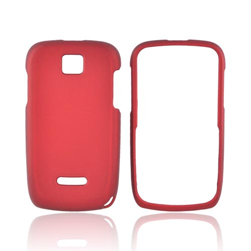 Motorola Theory Rubberized Hard Case - Red