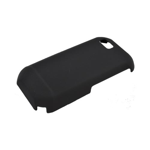 Motorola TITANIUM Rubberized Hard Case - Black