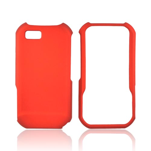 Motorola TITANIUM Rubberized Hard Case - Orange